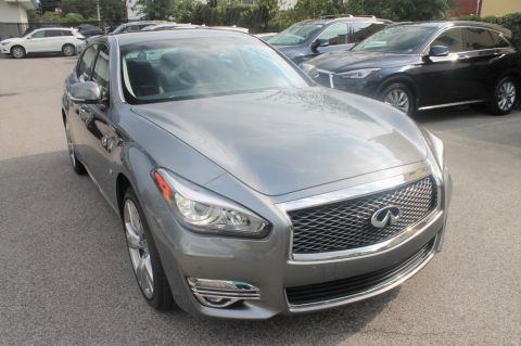 Certified Pre-Owned 2018 INFINITI Q70L 3.7 LUXE AWD
