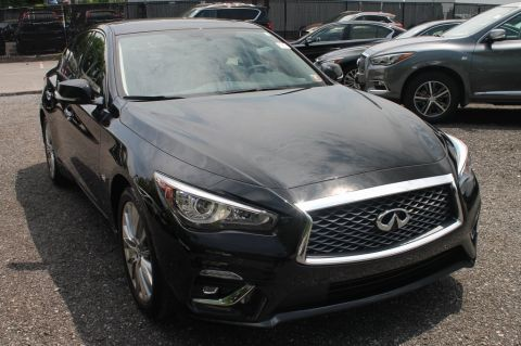Certified Pre-Owned 2019 INFINITI Q50 3.0t LUXE